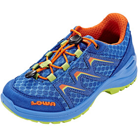 Lowa Maddox Low Shoes Junior royal/orange